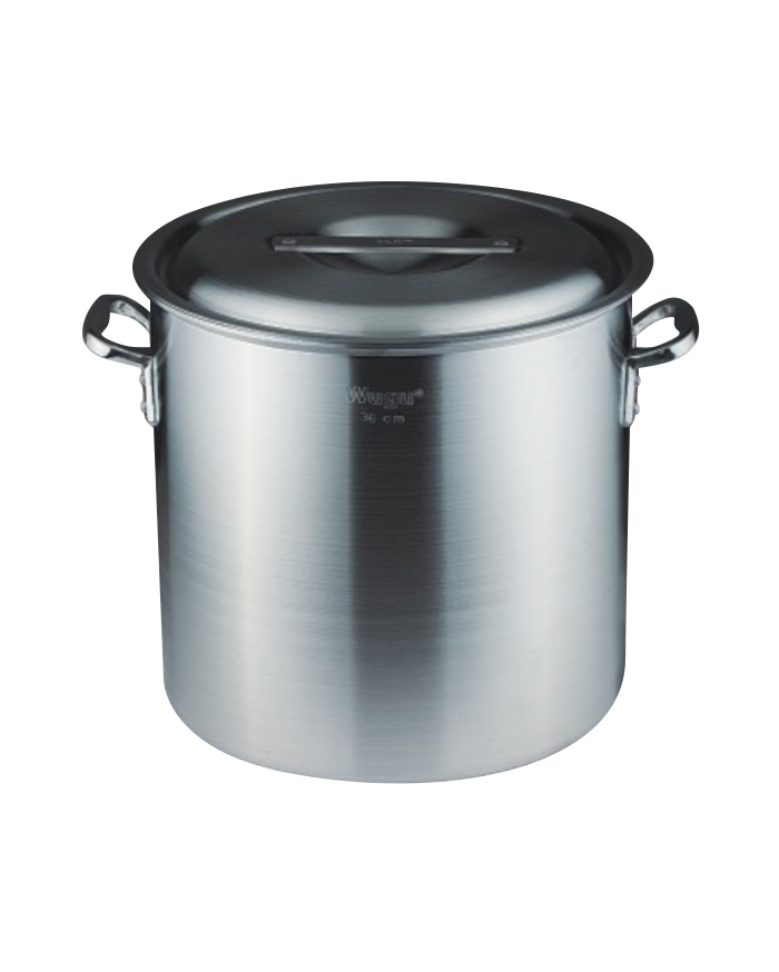 Double bottom aluminum pot high pot series
