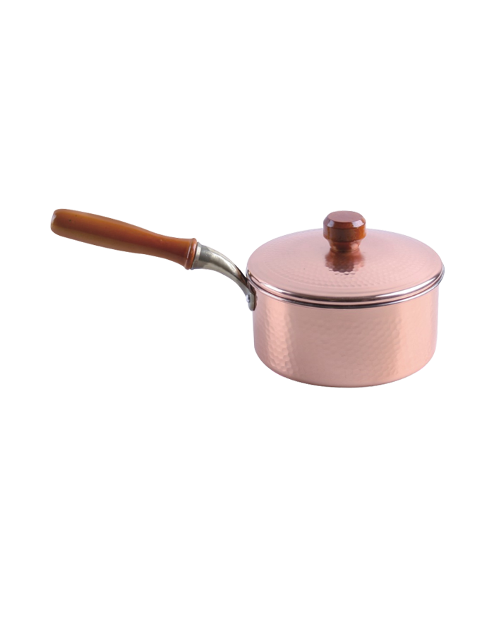 Copper Pot With A Handle