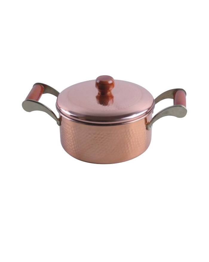 Copper Pot With Side-handles