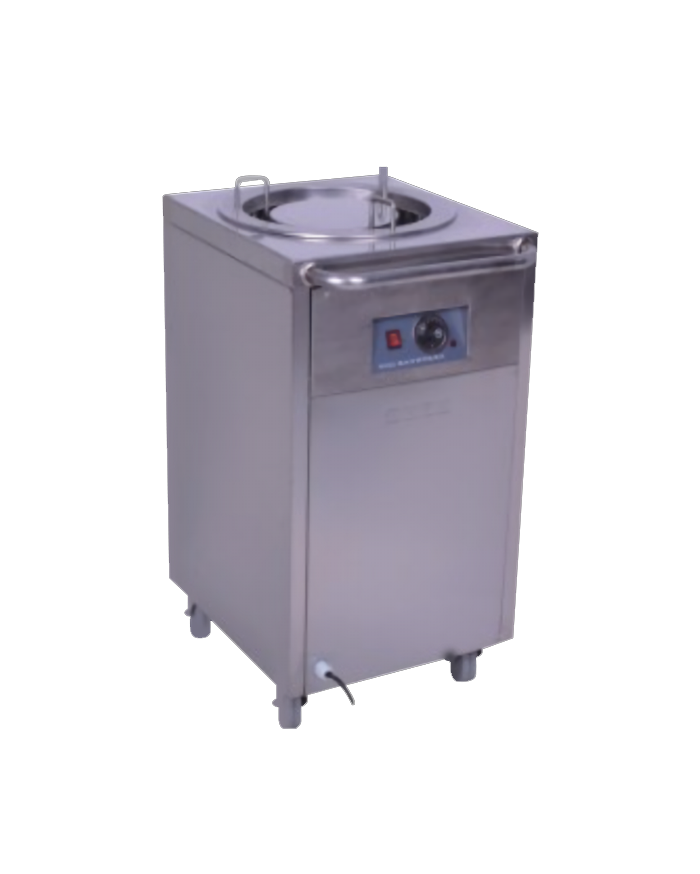 1 Stack Dish Warming Dispenser Trolley