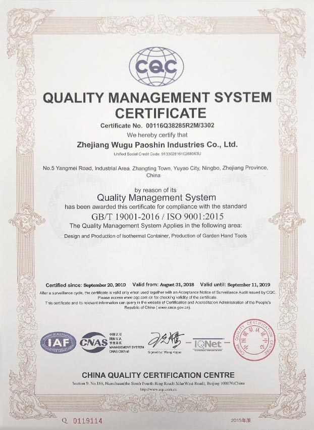 ISO 9001 - EN